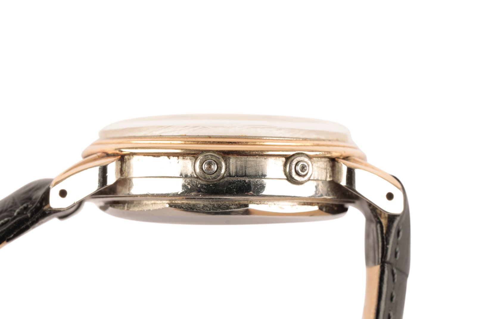 MOVADO CALENDOMATIC SPORT GENTLEMAN'S STAINLESS STEEL & GOLD PLATED WRIST WATCH - Image 2 of 7