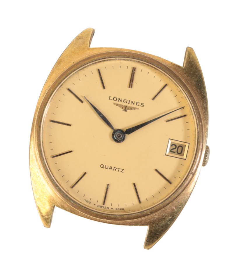 LONGINES GOLD PLATED GENTLEMAN'S WRIST WATCH