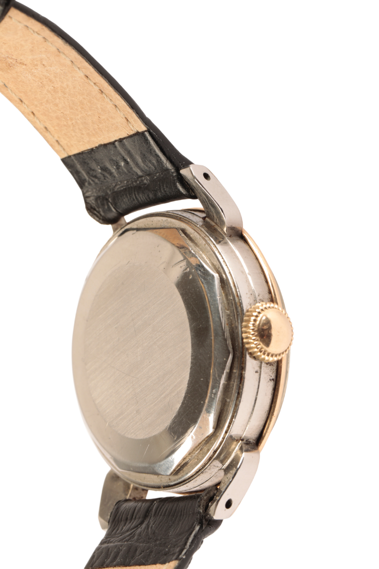 MOVADO CALENDOMATIC SPORT GENTLEMAN'S STAINLESS STEEL & GOLD PLATED WRIST WATCH - Image 4 of 7