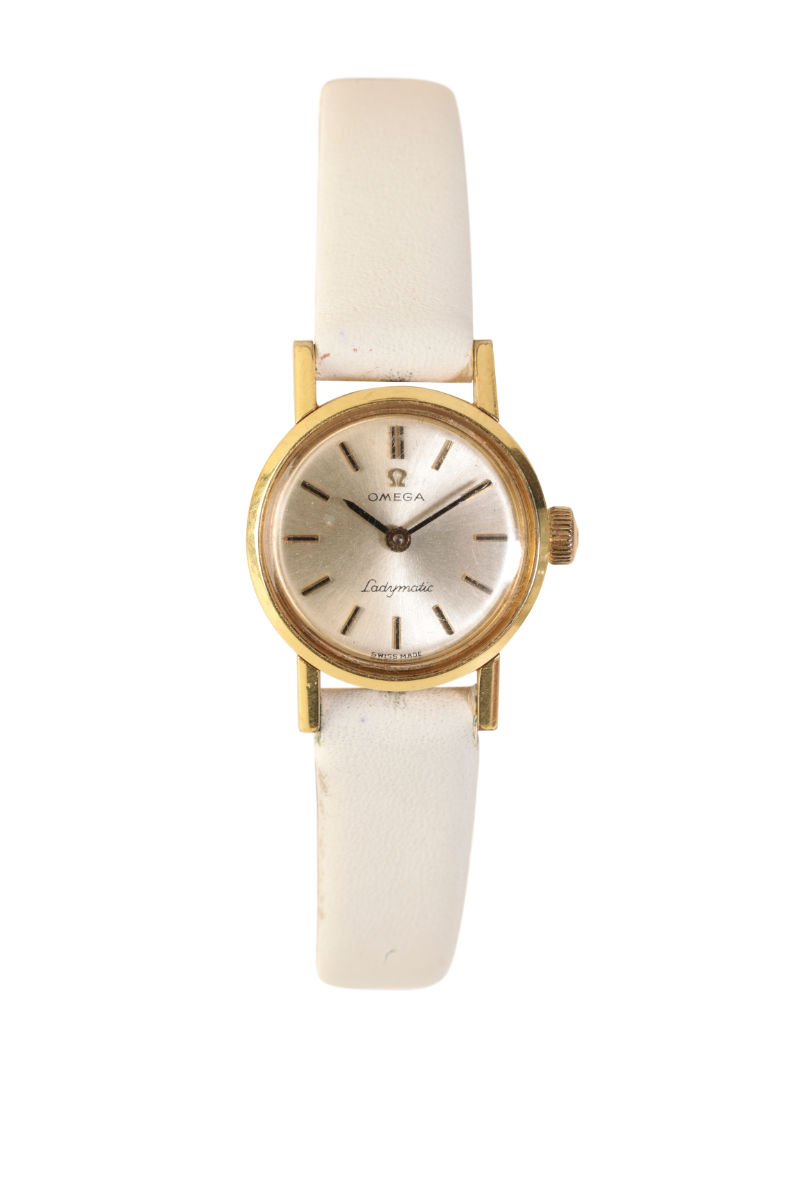 OMEGA LADY'S GOLD PLATED WRIST WATCH - Image 2 of 3