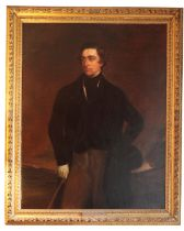 AFTER SIR FRANCIS GRANT (1803-1878) A portrait of Sidney Herbert, 1st Lord Herbert of Lea ...