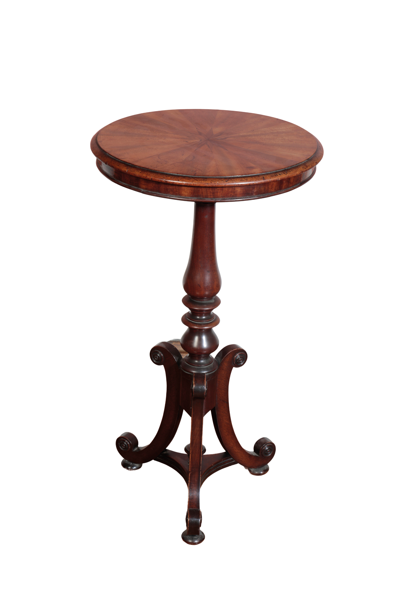 AN EARLY VICTORIAN WINE OR LAMP TABLE, - Image 2 of 2
