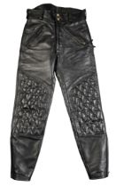 A PAIR OF LANGLITZ LEATHERS PADDED BREECHES