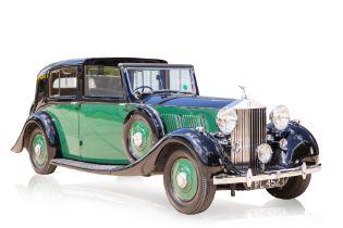 1937 ROLLS-ROYCE PHANTOM III BARKER SEDANCA DE VILLE