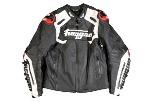 A FURYGAN LEATHERS MOTORCYCLE TOURING SUIT