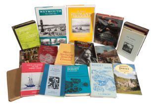A LARGE COLLECTION OF BOOKS RELATING TO DORSET,