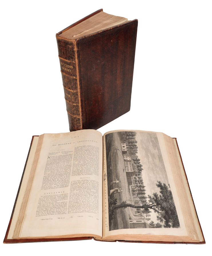 HUTCHINS, JOHN., THE HISTORY AND ANTIQUITIES OF THE COUNTY OF DORSET,