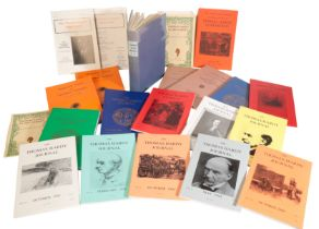 A LARGE COLLECTION OF BOOKLETS, PAMPHLETS, JOURNALS AND MAGAZINES CONCERNING THE WORKS OF THOMAS HAR