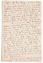 A PREFACE HAND WRITTEN AND SIGNED BY THOMAS HARDY,