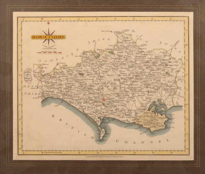 JOHN OGILBY 'THE ROADS FROM EXETER TO DORCHESTER AND PLYMOUTH TO DARTMOUTH' - Image 2 of 2