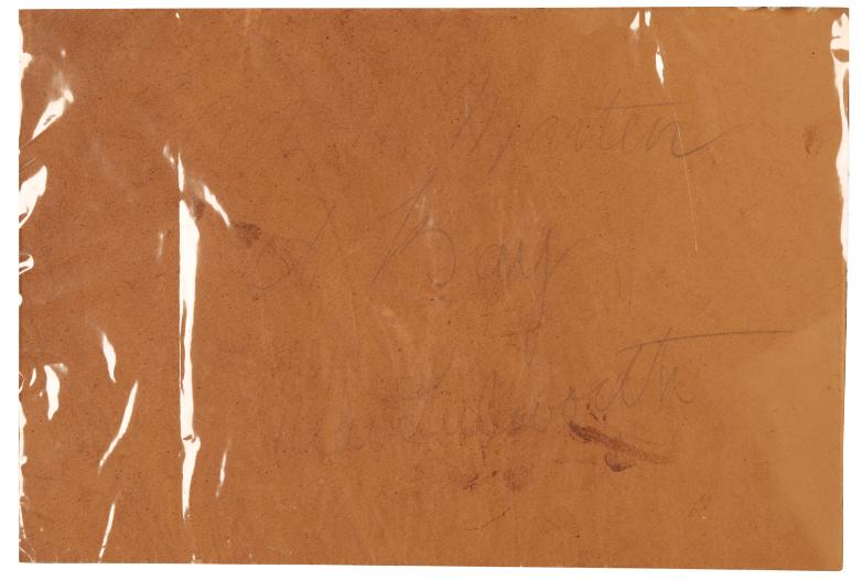 ELLIOT HENRY/HAIGH MARTEN (FL. 1886-1910) 'A Bay Near Lulworth' - Image 2 of 2