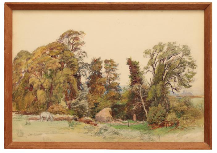GEORGE SPENCER WATSON (1869-1934) 'Near Corfe'