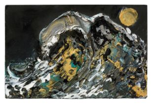 MAGGI HAMBLING (b. 1945) 'Moon and Sea, 2019'
