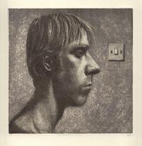 STUART PEARSON WRIGHT (b. 1975) 'Self portrait in profile 2004'