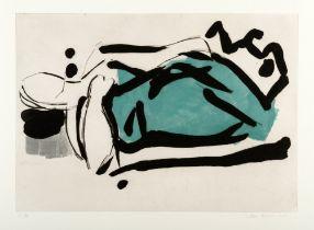 VICTORIA ACHACHE (b. 1952) 'Figure Lying, 2013'