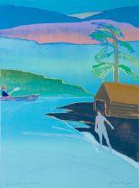 TOM HAMMICK (b. 1963) 'In a certain Sea, 2018'