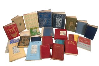 A QUANTITY OF FICTION AND NON-FICTION VOLUMES
