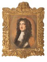 EDMUND ASHFIELD (fl. 1669-1673) A PORTRAIT OF CHARLES II