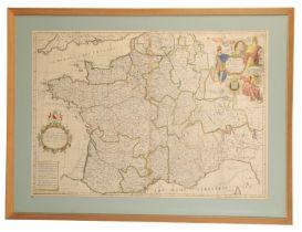 JOHN SENEX (1678-1740) A MAP OF FRANCE