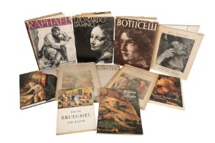 A QUANTITY OF BOOKS ON RENAISSANCE AND LATER ART