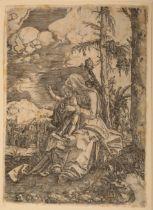 ALBRECHT ALTDORFER ( c.1480-1538) The Virgin and child in a landscape