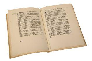 RICKETTS, CHARLES 'The Parables'