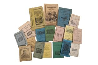 A COLLECTION OF CHAPBOOKS