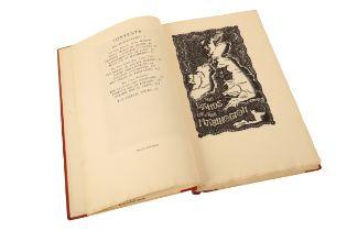 GOLDEN COCKEREL PRESS: JONES, GWYN AND JONES, THOMAS 'The Mabinogion'
