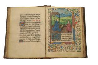 HOURS OF THE VIRGIN (USE OF AUTUN) WITH CALENDAR, ILLUMINATED MANUSCRIPT ON VELLUM