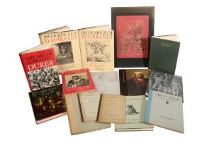 A SMALL QUANTITY OF BOOKS RELATING TO THE LIFE AND WORKS OF REMBRANDT AND DURER