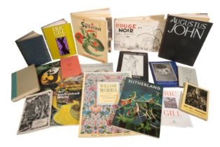 A SMALL QUANTITY OF 20TH CENTURY ART BOOKS AND PAMPHLETS