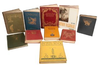 A SMALL QUANTITY OF BOOKS ILLUSTRATED BY ARTHUR RACKHAM