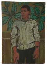 PETER SNOW (1927-2008) Portrait of a young man