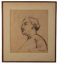 PETER SNOW (1927-2008) Head and shoulders portrait
