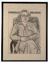 PETER SNOW (1927-2008) 'Mireille Galinou'