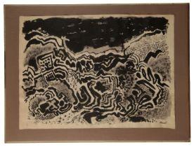 PETER SNOW (1927-2008) 'Landscape'