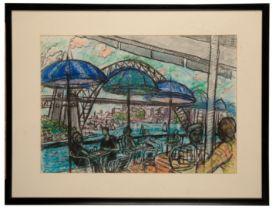 PETER SNOW (1927-2008) 'Circular Quay, Sydney, 1997'