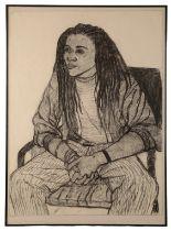 PETER SNOW (1927-2008) Portrait of a Rastafarian