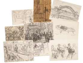 PETER SNOW (1927-2008) A FOLIO OF SKETCHES