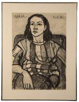 PETER SNOW (1927-2008) 'Maria, Aug 90'