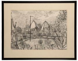 PETER SNOW (1927-2008) 'Sydney Opera House (Botanical Gardens)'