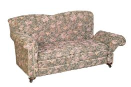 AN EARLY 20TH CENTURY TWO-SEATER SOFA
