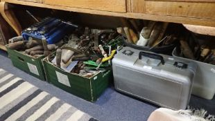 A COLLECTION OF WOODWORKING TOOLS