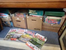 A LARGE COLLECTION OF 'TROUT AND SALMON' MAGAZINE