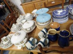 A COLLECTION OF VINTAGE MIDWINTER 'SIENNA' DINNER WARES