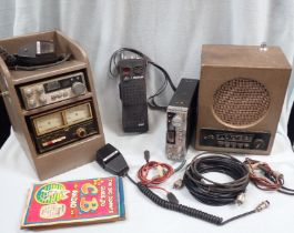 A COLLECTION OF CB RADIO EQUIPMENT