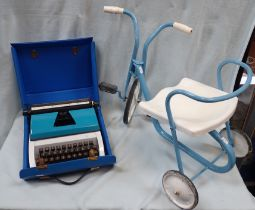 A CHILD'S VINTAGE TRICYCLE