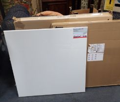 A QUANTITY OF UNUSED ARTISTS' CANVASES