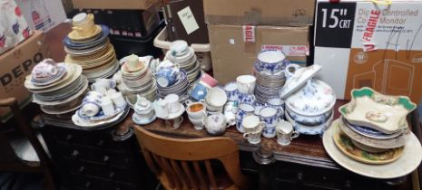 A LARGE QUANTITY OF DINNER AND TEAWARE