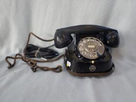 A VINTAGE TELEPHONE, 'BELL MFG. COMPANY'